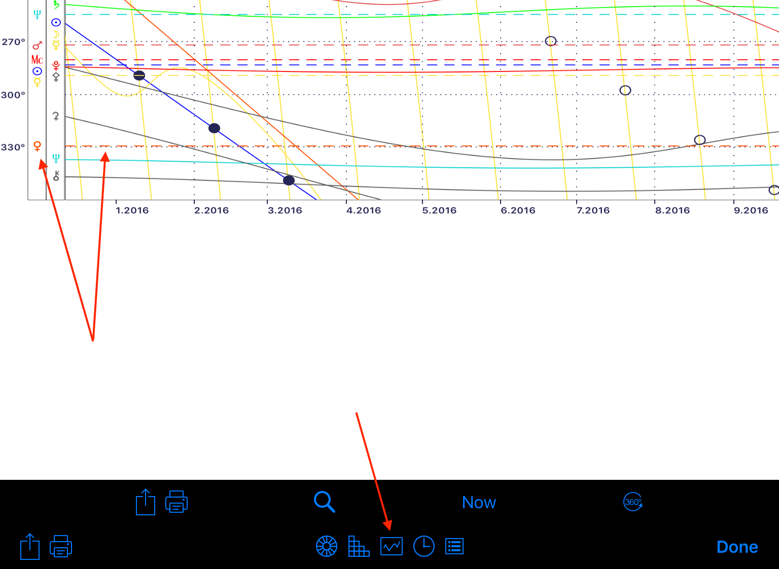 Documentation for iphemeris for ios iphemeris when enabled the graphic ephemeris chart report shows up as a new button on the chart display toolbar for full details on how it works and what the nvjuhfo Image collections