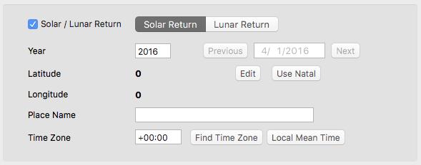 Solar Return v2.2